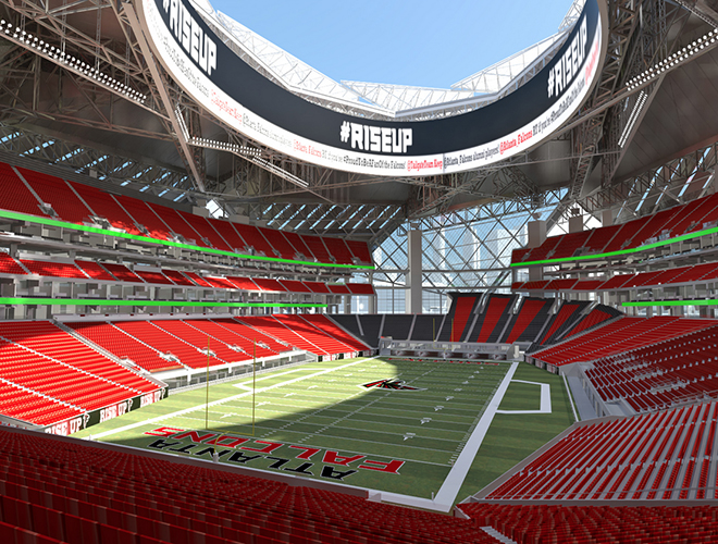 Welcome to atlanta mercedes benz will acquire the name of for Mercedes benz dome in atlanta