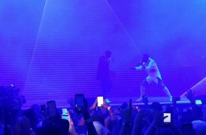 "Drake & Kanye West Perform ""Blessings"" During OVO Fest 2015 In Toronto (Video)"