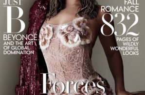 Draped Up & Dripped Out: Beyonce Covers Vogue Magazine's September Issue
