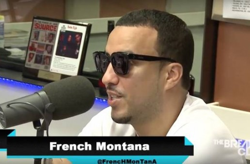 French Montana Talks About 50 Cent & Diddy's Vodka Wars, Max B, Chinx, His Dating Life & More On The Breakfast Club (Video)
