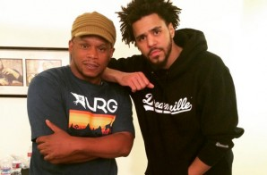 J. Cole Sits Down Backstage with Sway Calloway (Video)
