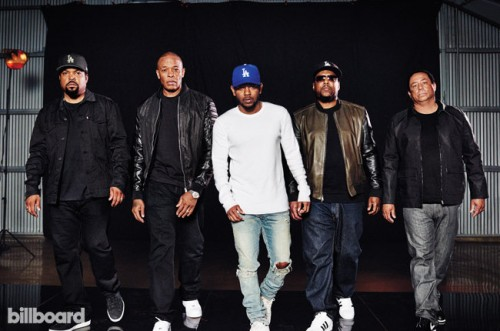 nwa-staight-outta-compton-bb24-2015-billboard-03-6501-500x331 Kendrick Lamar Interviews N.W.A. For Billboard!