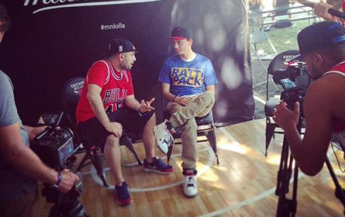 Logic Talks New Album, Wedding, Meek vs. Drake & More With Peter Rosenberg