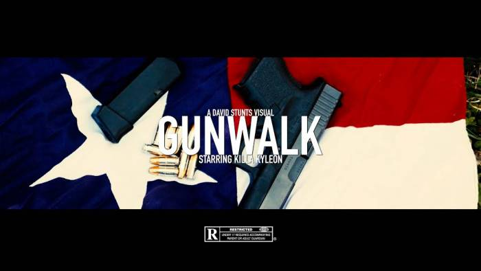 unnamed-3 Killa Kyleon - Gun Walk (Video)