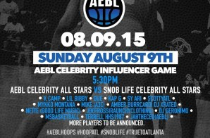 K Camp, Lil Bibby, Que, Scotty ATL & More Will Square Off In The AEBL vs. Snob Life Celebrity All Star Game Today (Atlanta)