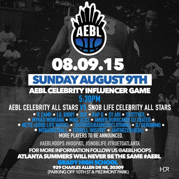 unnamed18 K Camp, Lil Bibby, Que, Scotty ATL & More Will Square Off In The AEBL vs. Snob Life Celebrity All Star Game Today (Atlanta)
