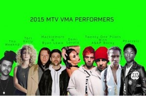 MTV Announces VMA Performer Line-up