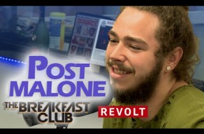 Post Malone Sits Down With The Breakfast Club For An Extremely Awkward Interview (Video)