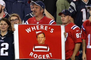 "New England Patriots Fans Troll NFL Commish Roger Goodell With ""Where Is Roger"" Chants During The 2015 NFL Season Opener (Video)"