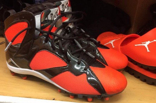 Jordan Brand's Newest Signee, Cleveland Browns Pro Bowler Joe Haden Reveals His New Air Jordan 7 Cleats
