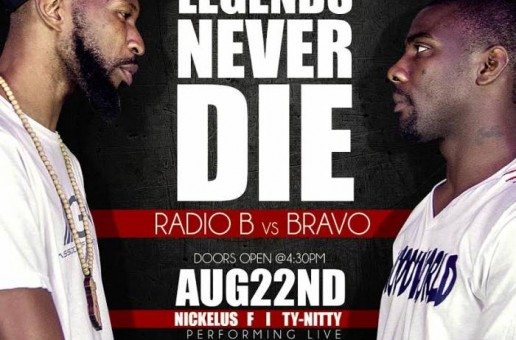 Legends Never Die Rap Battle: Radio B vs Bravo (Video)