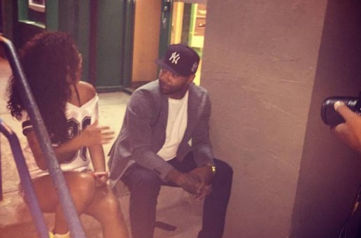"Joe Budden Discusses ""All Love Lost"" Outside Listening Party In NYC"