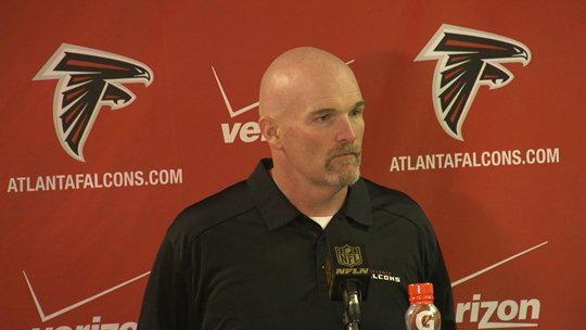 dan-Quinn Rise Up: Dan Quinn Wins His First Regular Season Game As The Falcons Head Coach