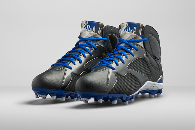 dope Flying On The Field: Jordan Brand Introduces The Air Jordan 7 Cleats (Photos)