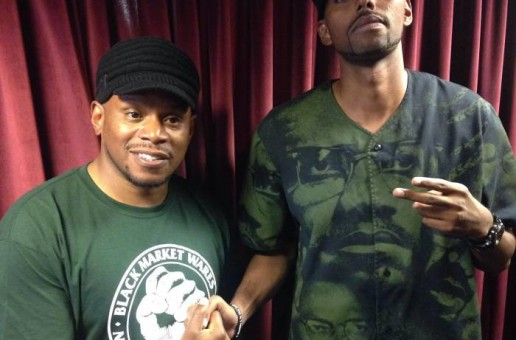 Baltimore's Ellis Stops By Sway In The Morning And Kicks A Freestyle! (Video)