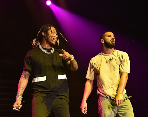 "future-drake-500x396 Drake And Future's ""What A Time To Be Alive"" Debuts At No. 1"