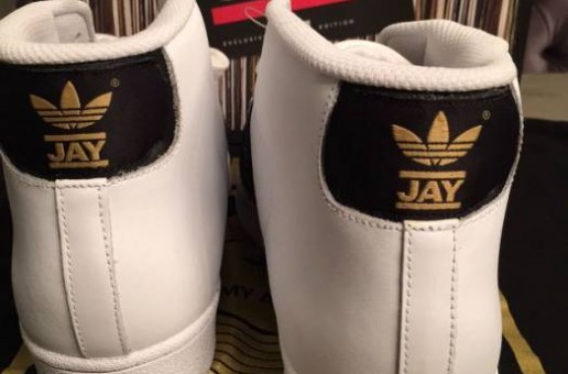 BrandFire Unveils Inside Look Of Exclusive DJ Jam Master Jay's Adidas Pro Label Sneakers!