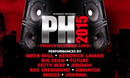 Philly's Power 99 Reveals It's Lineup For Powerhouse 2015 Concert On October 23rd