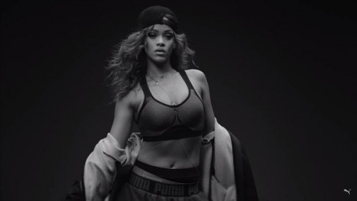 "riri-500x282 From Music To Sportswear, Watch Rihanna Go ""Platinum"" In Her New PUMA Commercial! (Video)"