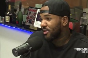 The Game Stops By Power 105.1 To Chop It Up With The Good Folks Over At The Breakfast Club (Video)