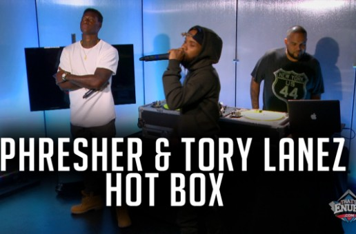 "Tory Lanez & Phresher Featured On DJ Enuff's ""The Hot Box"""