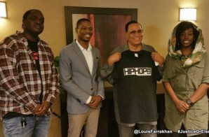 Vibe, BET, The Breakfast Club, Hot 97 & More Respond To HHS1987's Interview W/ Minister Louis Farrakhan!