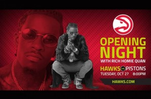 The Atlanta Hawks Will Tip-Off Opening Night With Performances From Homegrown Star Rich Homie Quan