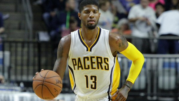 CR_2fBIWUAEMgRP On Pace For An All-Star Return: Pacers Star Paul George Spins & Slams it Home During A Fastbreak (Video)
