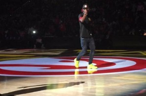 Rich Homie Quan Performs During Halftime Of The Atlanta Hawks Home Opener (Video)