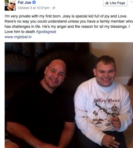 FatJoe-448x500 Fat Joe Shares Heartfelt Tribute To Son With Special Needs
