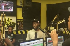 "Shy Glizzy Talks New Mixtape ""For Trappers Only"", Working With Zaytoven, Weighs In On Meek Mill Vs. Drake Beef & More With DJ Holiday (Video)"