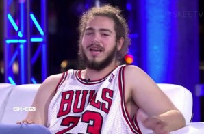 Post Malone Talks Blowing Up, Collab with Kanye, Bieber & More In First TV Interview On SKEE TV (Video)