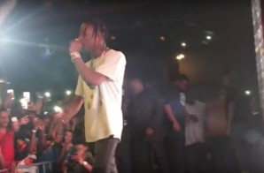 Travi$ Scott Performs At Beer And Tacos Stage During A3C Festival! (Video)