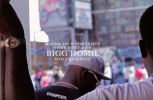 Bigg Homie Performs Live at Free Fest (Video)
