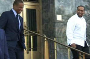 "Jay Z & Timbaland Start ""Big Pimpin"" Trial! (Video)"