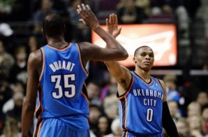 Russell Westbrook Drops 48, Kevin Durant Scores 43; Thunder Defeat Magic in Double Overtime (Video)