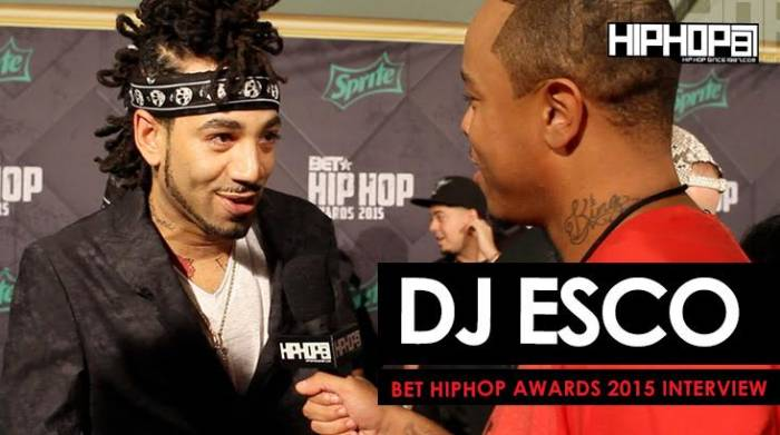 unnamed18 DJ Esco Hints At Future Releasing 'Monster 2', 'Esco Boomin' & More On The 2015 BET Hip-Hop Awards Green Carpet (Video)
