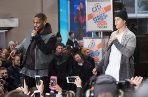 "Big Sean Joins Justin Bieber On The ""Today"" Show (Video)"