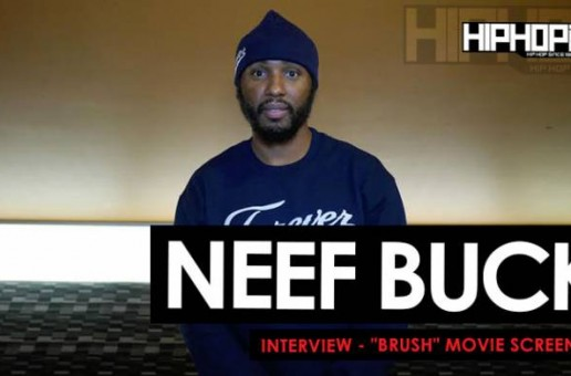 "Neef Buck Interview At The ""Brush"" Movie Screening 11/5/15 (Video)"