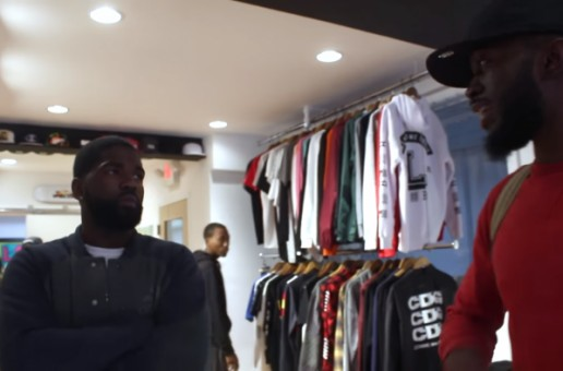 Tsu Surf Does Meet & Greet at Laced Boston (Video)