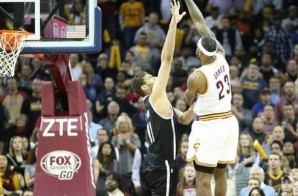 LeBron James Floats in the Game Winner (Video)