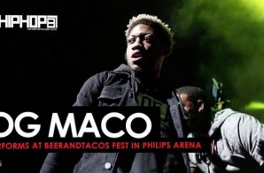 "OG Maco Performs ""Fuck Em 3x"" & ""U Guessed It"" at BeerAndTacos in Philips Arena (Video)"