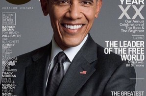 "Barack Obama & Tom Brady Cover GQ Magazine ""Men Of The Year"" Edition (Photos)"
