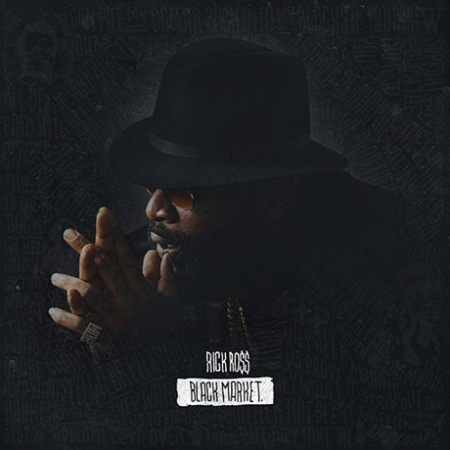 Rick-Ross-Black-Market-500x500 Rick Ross Unveils Official Cover Art For Forthcoming Project, 'Black Market'