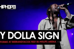 "Ty Dolla Sign Performs ""Blasé"", ""Stand For"", ""Paranoid"" & More at BeerAndTacos Fest in Philips Arena (Video)"