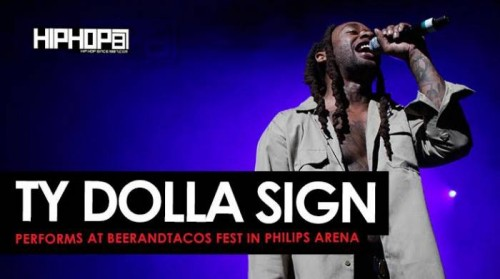 "TyDollaSign-500x279 Ty Dolla Sign Performs ""Blasé"", ""Stand For"", ""Paranoid"" & More at BeerAndTacos Fest in Philips Arena (Video)"