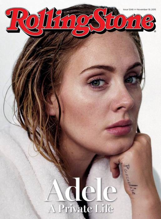 adele Adele Graces the Cover of the November Issue of Rolling Stone Magazine