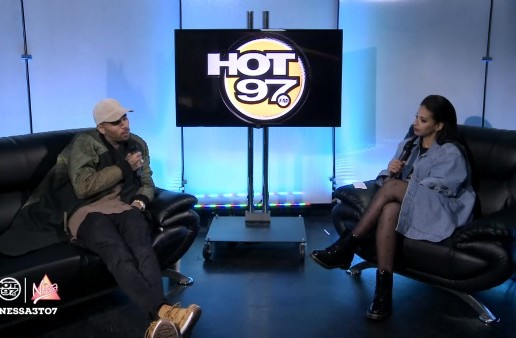 Chris Brown Stops By Hot 97 To Talk Getting Past Drake Beef & Relationships With Rihanna And Karrueche! (Video)