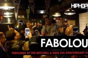 """Fabolous Performs """"We Good"""" & """"Ball Drop"""" at The Mitchell & Ness 5 Year Anniversary Party (Video)"""