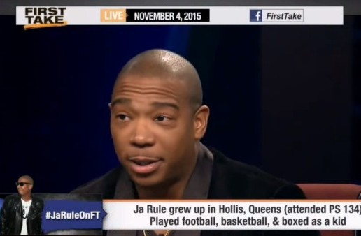Ja Rule Visits ESPN 'First Take'! (Video)